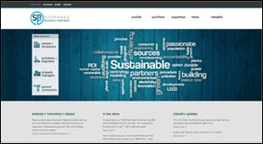 Sustainable Building Partners homepage